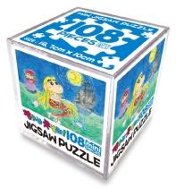 짱구는 못말려! 직소퍼즐 108pcs 미니: 인어공주