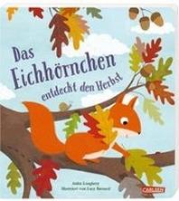Das Eichhoernchen entdeckt den Herbst