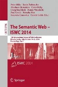 The Semantic Web - Iswc 2014