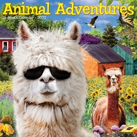Animal Adventures 2022 Wall Calendar