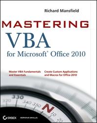 Mastering VBA for Office 2010