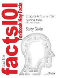 Studyguide for Tonal Harmony by Kostka, Stefan, ISBN 9780073401355
