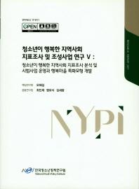 청소년이 행복한 지역사회 지표조사 및 조성사업 연구. 5(2017)