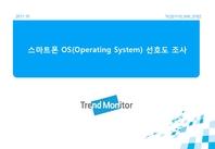 스마트폰 OS별 선호도 및 국내 소프트웨어 전망 조사(2011)