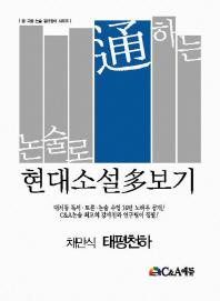 논술로 통하는 현대소설다보기: 채만식 태평천하