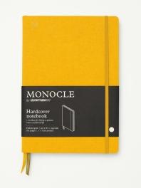 모노클 하드커버 도트 노트 B5 옐로우(Monocle Booklinen Hardcover Dot B5 Yellow)
