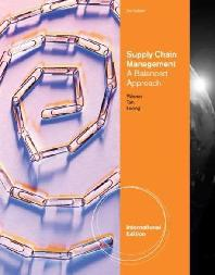 Supply Chain Management : Balanced Approach
