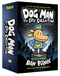 Dog Man. 1-3 Boxed Set:The Epic Collection (Hardcover)