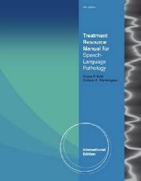 Treatment Resource Manual for Speech Language Pathology (Paperback)