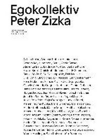 Peter Zizka. Egokollektiv