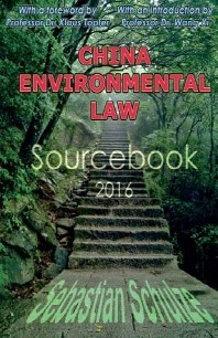 China Environmental Law - Sourcebook 2016
