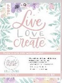 Bullet Journal Lovely Pastell Flowers & Boho - Live, love, create