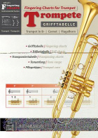 Grifftabelle Fr Trompete [Fingering Charts for Trumpet]