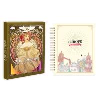 마이 로맨틱 유럽 스티커 컬러링북+아르누보 36색 색연필 세트