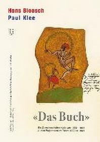 """Hans Bloesch - Paul Klee """"Das Buch"""" - Studienausgabe"""