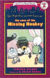 The Case of the Missing Monkey (Book+Audio CD)