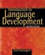 Introduction to Language Development 2/E