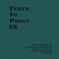 Tests in Print IX