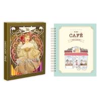 마이 스위트 카페 스티커 컬러링북+아르누보 36색 색연필 세트
