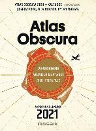 Atlas Obscura - Abreisskalender 2121
