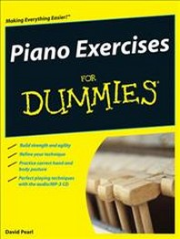 Piano Exercises for Dummies [With CDROM]