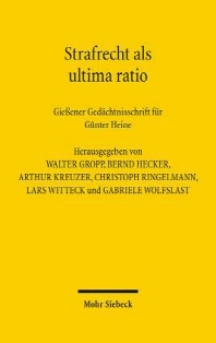 Strafrecht ALS Ultima Ratio