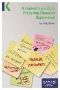 Students Guide to Preparing Financial Statements