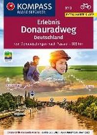 KOMPASS RadReiseFuehrer Erlebnis Donauradweg Deutschland