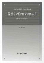 물권법각론(개별물권변동론). 2: 용인물권 담보물권