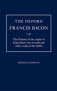 The Oxford Francis Bacon VIII