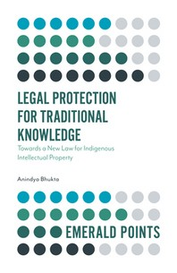 Legal Protection for Traditional Knowledge