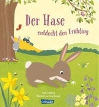 Der Hase entdeckt den Fruehling