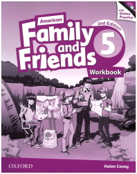 American Family and Friends. 5(Workbook)(with Online Practice)