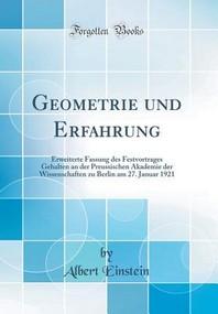 Geometrie Und Erfahrung