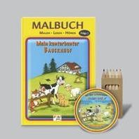 Mein kunterbunter Bauernhof - Malen-Lesen-Hoeren (Malbuch-Set)