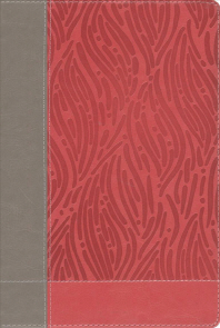NKJV, Faithlife Illustrated Study Bible, Imitation Leather, Pink, Red Letter Edition