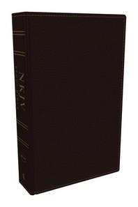 NKJV Study Bible, Bonded Leather, Burgundy, Full-Color, Comfort Print