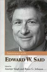 Interviews with Edward W. Said