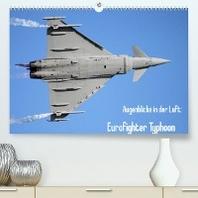 Augenblicke in der Luft: Eurofighter Typhoon (Premium, hochwertiger DIN A2 Wandkalender 2022, Kunstdruck in Hochglanz)