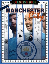 Manchester City Coloring Book