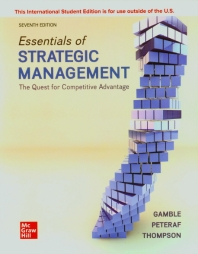 ISE Essentials of Strategic Management: The Quest for Competitive Advantage