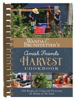 Wanda E. Brunstetter's Amish Friends Harvest Cookbook
