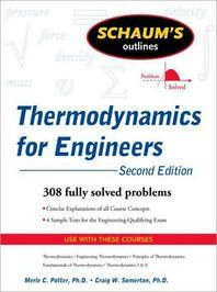 Schaum's Outlines Thermodynamics for Engineers