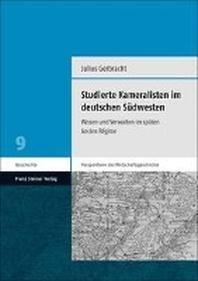 Studierte Kameralisten Im Deutschen Sudwesten