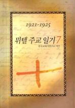 뮈텔 주교 일기. 7(1921-1925)