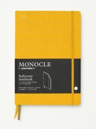모노클 소프트커버 도트 노트 B5 옐로우(Monocle Booklinen Softcover Dot B5 Yellow)