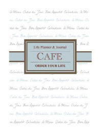Cafe Life Planner & Journal (e-book/pdf)