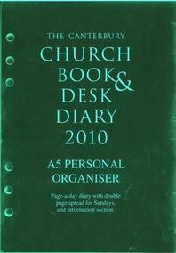 The Canterbury Church Book & Desk Diary 2010