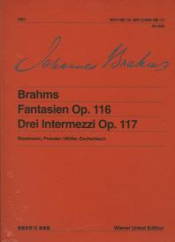 브람스 판타지 작품 116,3곡의 인터메초 작품 117