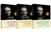 Dale Carnegie Self Improvement Series 데일 카네기 영문판 3권 세트(미니북)